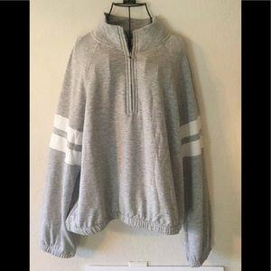 Hippie Rose 🌹 Gray Sweatshirt